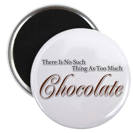 Chocolate Saying Magnet