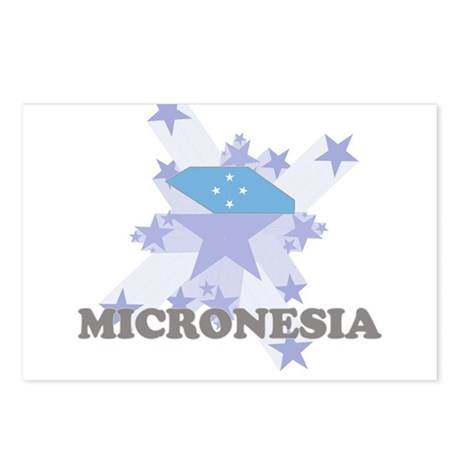 All Star Micronesia Postcards (Package of 8)