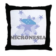 All Star Micronesia Throw Pillow