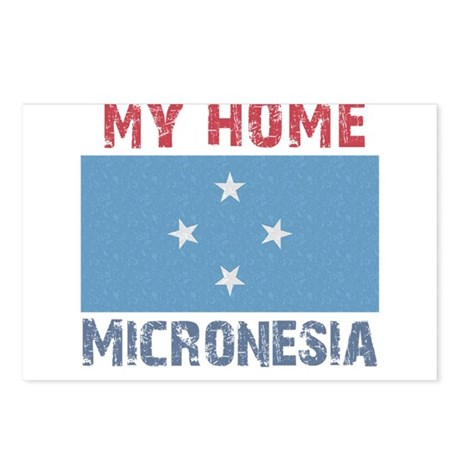 My Home Micronesia Vintage St Postcards (Package o
