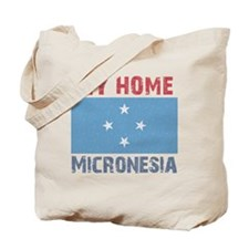 My Home Micronesia Vintage St Tote Bag
