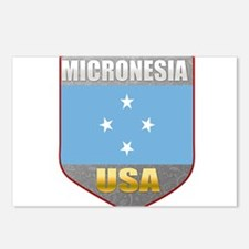 Micronesia USA Crest Postcards (Package of 8)