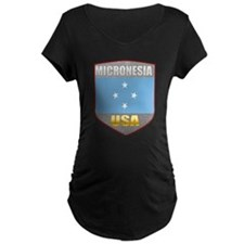 Micronesia USA Crest T-Shirt