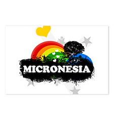 Sweet Fruity Micronesia Postcards (Package of 8)