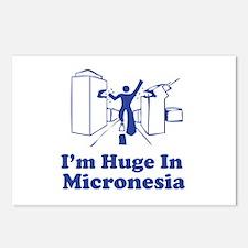 I'm Huge in Micronesia Postcards (Package of 8)