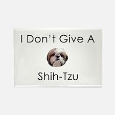 I Don't Give A Shih Tzu Rectangle Magnet (10 pack)