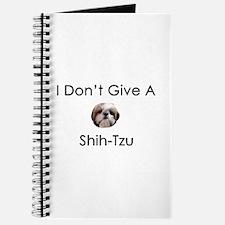I Don't Give A Shih Tzu Journal
