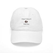 I Don't Give A Shih Tzu Baseball Cap