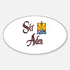 Sir Aden Oval Decal