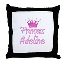 Princess Adeline Throw Pillow