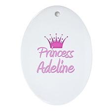 Princess Adeline Oval Ornament