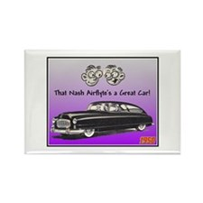 """""""1950 Nash Ad"""" Rectangle Magnet (10 pack)"""