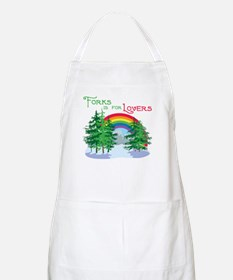 Forks Is For Lovers BBQ Apron