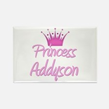 Princess Addyson Rectangle Magnet