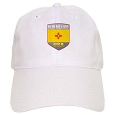 New Mexico USA Crest Baseball Cap