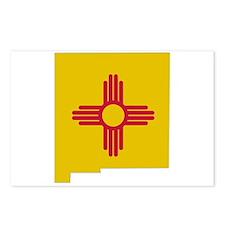 New Mexico Stripe Custom Desi Postcards (Package o