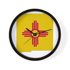 New Mexico Stripe Custom Desi Wall Clock