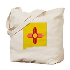 New Mexico Stripe Custom Desi Tote Bag