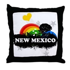 Sweet Fruity New Mexico Throw Pillow