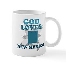 God Loves New Mexico Mug