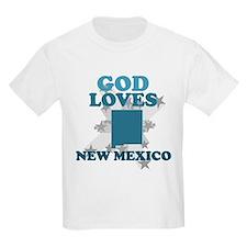 God Loves New Mexico T-Shirt