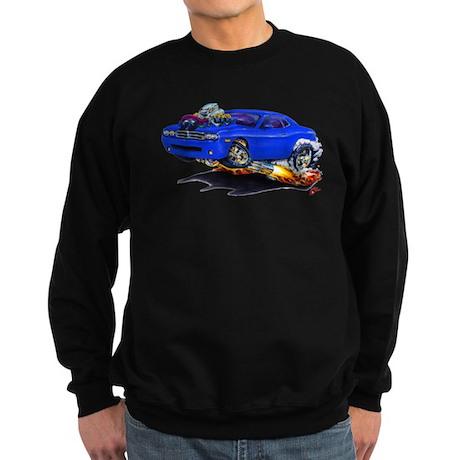 Challenger Blue Car Sweatshirt (dark)