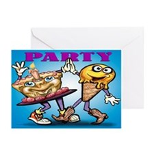 Cute Funny office anniversary Greeting Cards (Pk of 10)