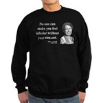 Eleanor Roosevelt 2 Sweatshirt (dark)