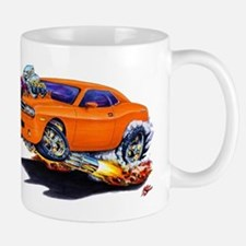 Challenger Orange Car Mug