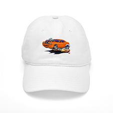 Challenger Orange Car Baseball Baseball Cap