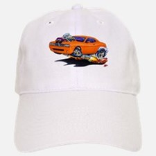Challenger Orange Car Baseball Baseball Cap