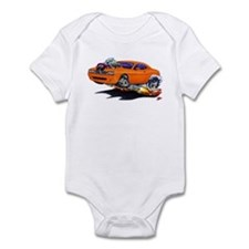 Challenger Orange Car Infant Bodysuit