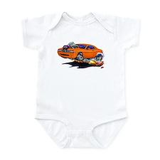 Challenger Orange Car Onesie