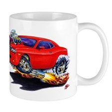 Challenger Red Car Mug