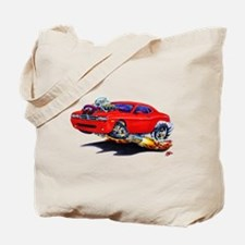 Challenger Red Car Tote Bag