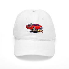 Challenger Red Car Baseball Baseball Cap