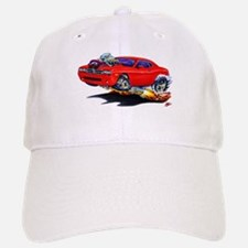 Challenger Red Car Baseball Baseball Cap