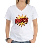 Party! Women's V-Neck T-Shirt
