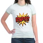 Party! Jr. Ringer T-Shirt