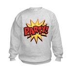 Party! Kids Sweatshirt