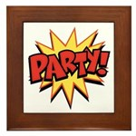 Party! Framed Tile