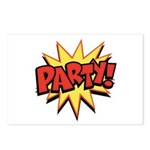 Party! Postcards (Package of 8)