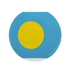 "Beloved Palau Flag Modern Sty 3.5"" Button"