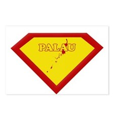 Super Star Palau Postcards (Package of 8)