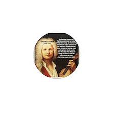 Classical Music: Vivaldi Mini Button