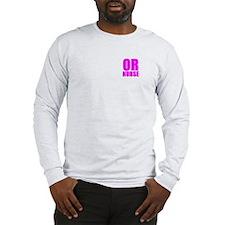 Bold RN pink Long Sleeve T-Shirt