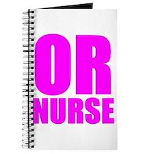 Bold RN pink Journal