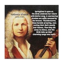 Classical Music: Vivaldi Tile Coaster