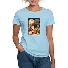 Classical Music: Vivaldi Women's Pink T-Shirt