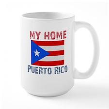 My Home Puerto Rico Vintage S Mug